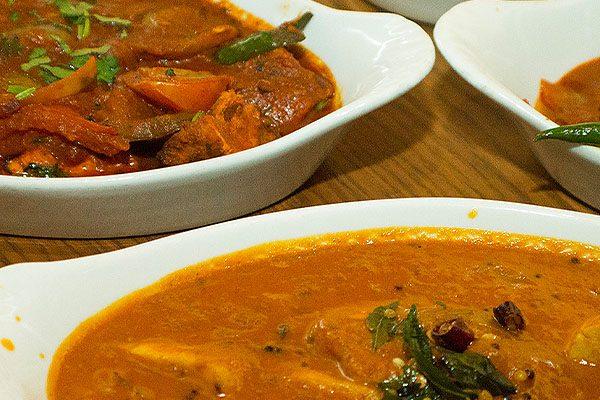 Indian Restaurant. Cardiff