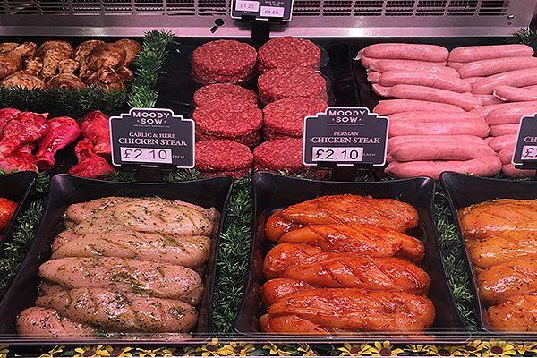 Fresh meat Cardiff