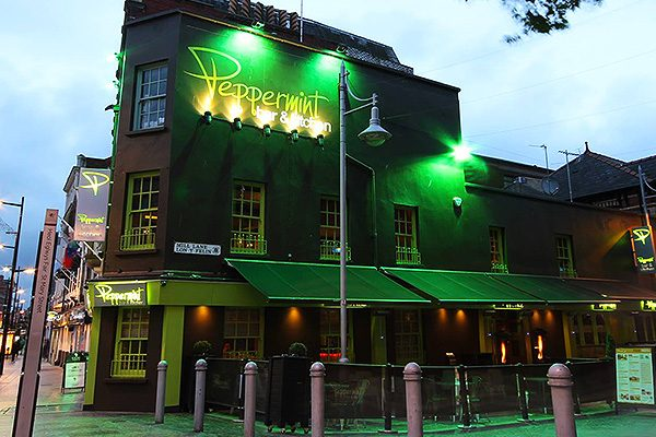 Peppermint bar and restaurant Cardiff